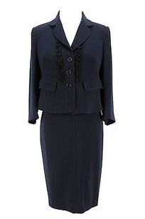 Aspesi Womens Dress Suit Blue Triacetate