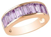 Other Pink Sterling Silver 2 13 Ct Tgw Amethyst Fashion Ring