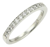 Hearts On Fire 18k White Gold 0.40ct Diamond Wedding Band Ring-