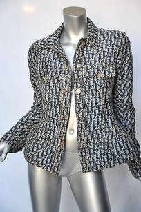 Christian Dior Vintage Womens Blues Jacket