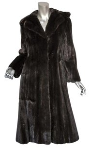 Other Vintage Mink Fur Long Lustrous Jacket Beauty Coat