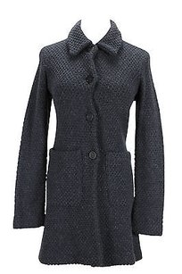 Altea Womens Grey Wool Coat