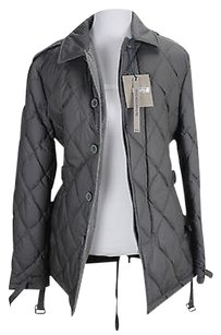 Bdp Womens Jacket Grey Cotton Coat