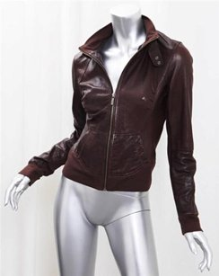 Arma Collection Brown Leather Jacket