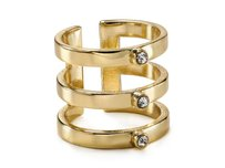 Other Bloomingdales Aqua Gold Rissa Triple Row Ring