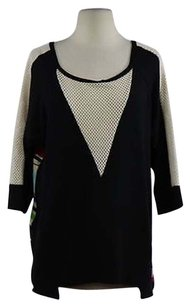 Other Go Make Noise Womens Striped Boat Neck Sweater