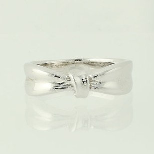 Bow Ring - Sterling Silver 925 7.75 Band Womens