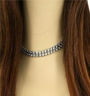 Breathtaking Solid 14k White Gold 4.05 Carats Diamonds Opera Dress Necklace