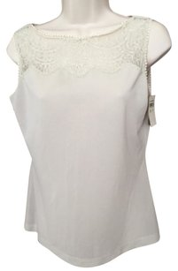 Dior Christian Chemise Top Ivory