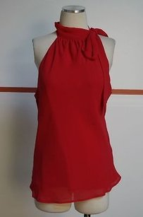 Sydney Tyler Red 100 Poly Tie Top Reds
