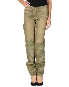Carlo Chionna Womens Cargo Pants Multi-Color