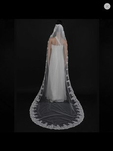 Cathedral Soft Alecon Lace Color Ivory