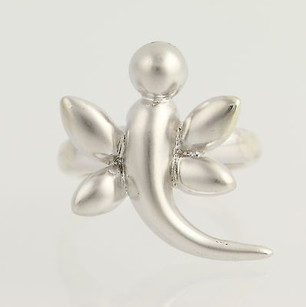 Other Chunky Dragonfly Ring - Sterling Silver Insect Jewelry 925 Womens