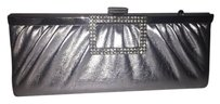 Other Sequin Formal Metallic Silver Clutch