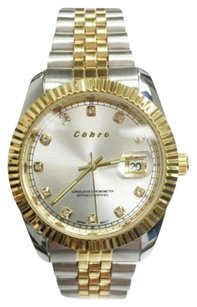 Other Cohro G T Sky Shock Resistant S8952gld Classic Seiko Movement Dress Watch Em