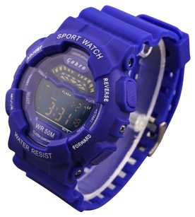 Other Cohro G T Sky Shock S0901blu Blue Warrior Seiko Movement Digi Sport Watch Gmds
