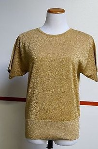 The Works Saks Fifth Ave Gold Sweater