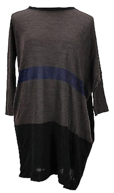 Emme Marella Striped Womens Sweater Brown Polyamide - #19978640 - Sweaters & Pullovers 60%OFF