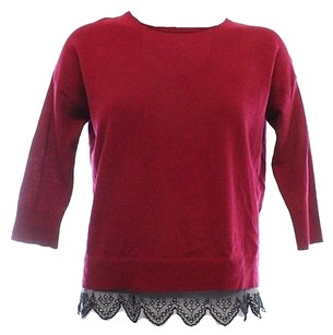 Made For Impusle Red Wine Sweater