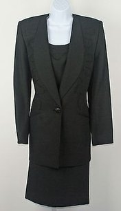 Criscione Black Bead Embellished Piece Womens Suit B221
