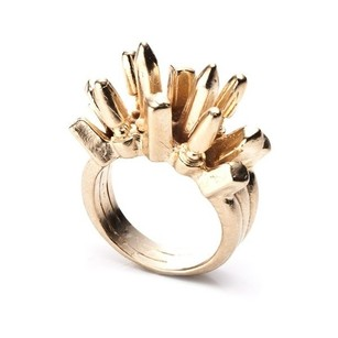Other Dannijo Beatrix Gold Spike Ring Statement Rings