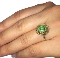 Deco Gold Ring