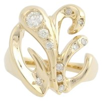 Other Diamond Cocktail Ring - 14k Yellow Gold Womens 34 - Genuine .50ctw