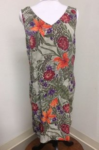 Other short dress Kathie Lee Collection Tropical Floral Print on Tradesy