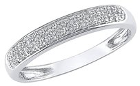 Other 10k White Gold 110 Ct Diamond Tw Eternity Fashion Ring Gh I2i3