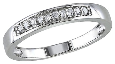 Other Sterling Silver 110 Ct Diamond Tw Fashion Engagement Band Ring I3