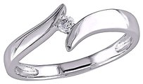 Other 10k White Gold Diamond Fashion Ring Gh I2-i3