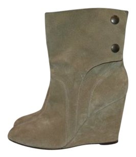 Tila March Suede Beige Boots