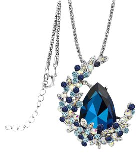 Other Fashion Crystal Moon Necklace