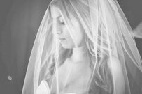 Fingertip Length Bridal Veil With Comb, New Veil