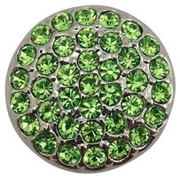 Ginger Snaps Ritzy Peridot Snap Light Green Stones Sn06-07