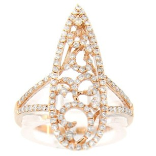 Other Glk 14k Rose Gold 0.68ct Diamond Ring