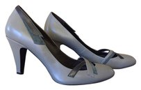 Grey and blue Pumps