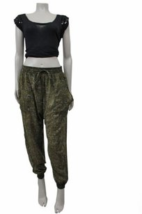 Other Staring At Stars Urban Outfitters Olive Floral Print Harem Pants