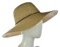 Other Wallaroo Napa Womens Beige Wide Brim Hat Os Woven Textile Casual