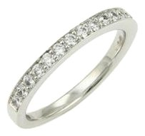 Hearts On Fire 0.40ct Diamond Wedding Band Ring In 18k White Gold -