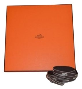 Other Hermes Orange Scarf Box - Wtissue Ribbon- 9.25 X 9.25 X .75