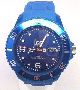 Ice-watch Mens Si.be.b.s.09 Sili Collection Plastic Watch Read Description