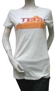 Retro Virginia Tech T Shirt Ivory