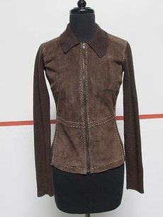 Harolds Leather Long Sweater