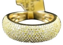 Other 1.0,Ct,10k,Ladies,Yellow,Gold,7,Mm,Wedding,Band,Canary,Real,Diamond,Ring,Band