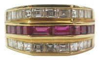 18kt,Gem,Ruby,Diamond,Jewelry,Ring,Yg,2.52ct