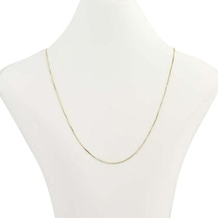 Box Chain Necklace 18 - Sterling Silver Gold Filled Womens