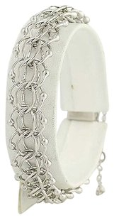Other Modified Triple Cable Chain Bracelet 12 - Sterling Silver Starter Charm
