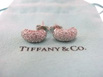 Tiffany,Co,Plat,Elsa,Peretti,Pave,Diamond,Earring,