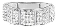 Other Fine Multi Shape Diamond Huggie Earrings Wg 14kt .1.01ct